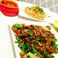 Bringing Siam to Dinner -- Thai Pork Lettuce Wraps