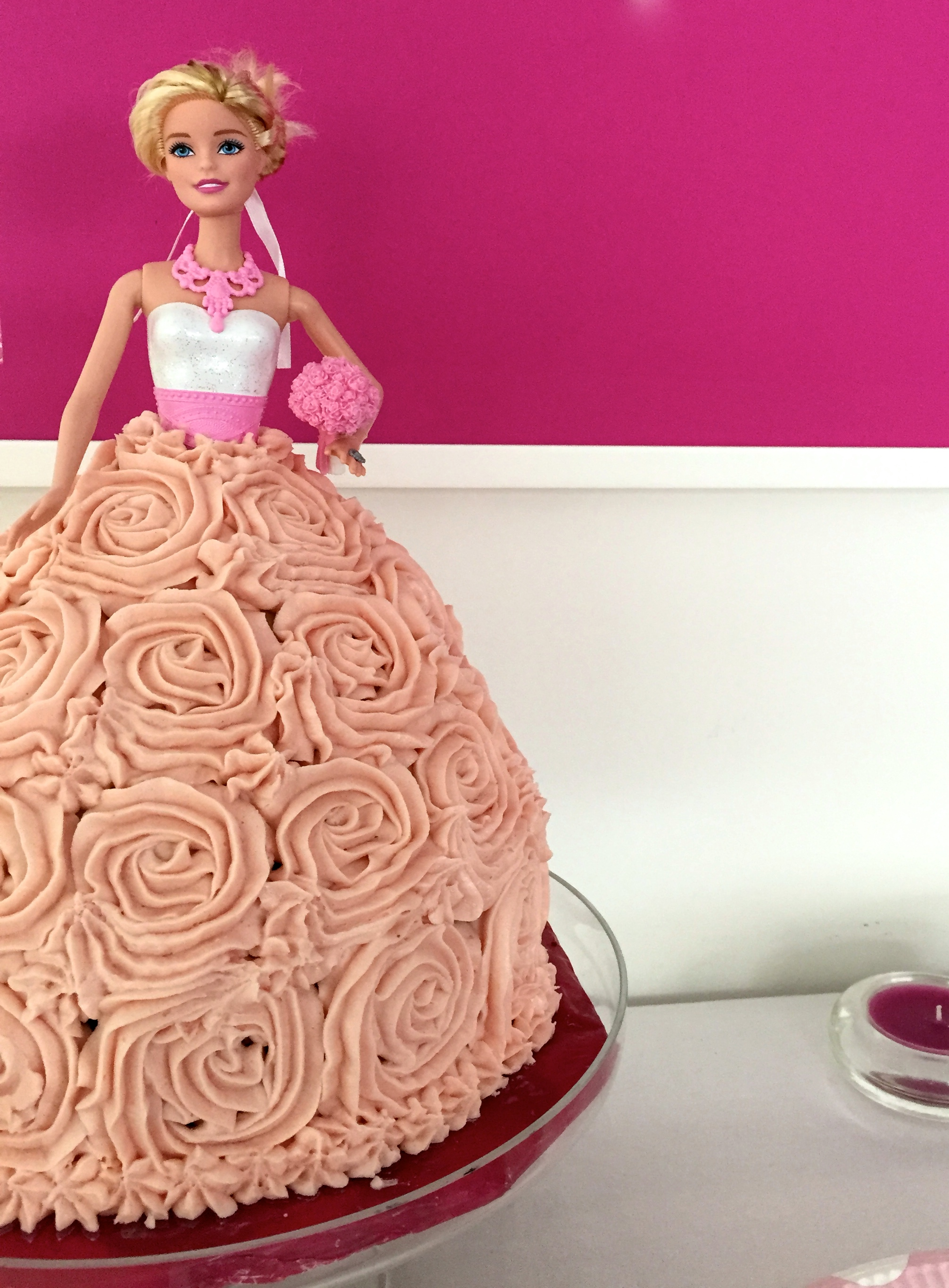 Barbie Birthday Cake Chasing Thyme