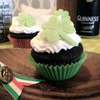 The gift of the Irish gab -- chocolate stout cupcakes