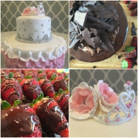 Shabby chic or pretty in pink? Survival tips for cake decorating